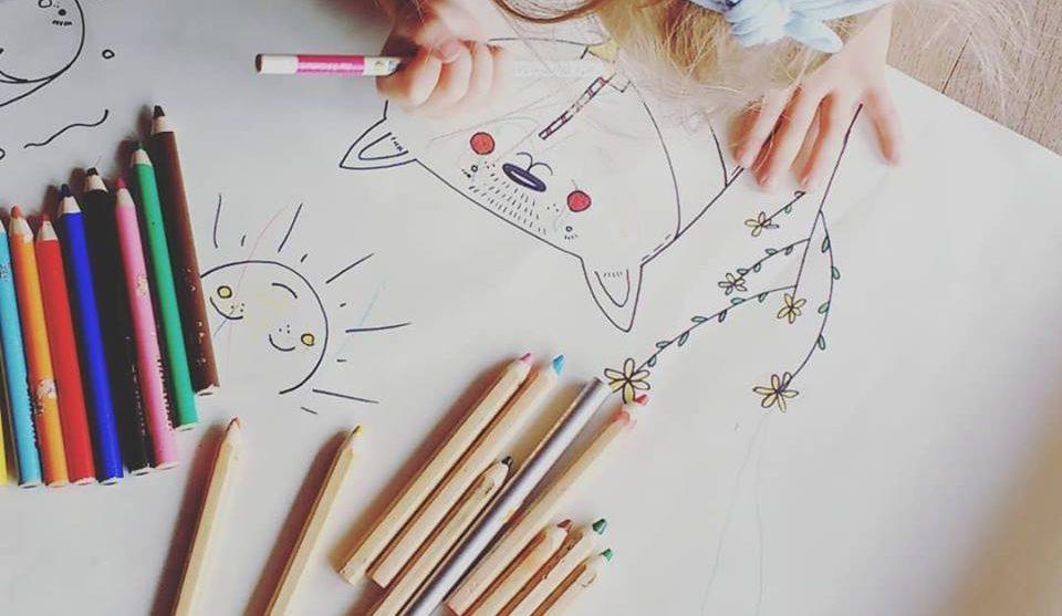 Plakaty dla dzieci, kolorowanki & projekty DIY