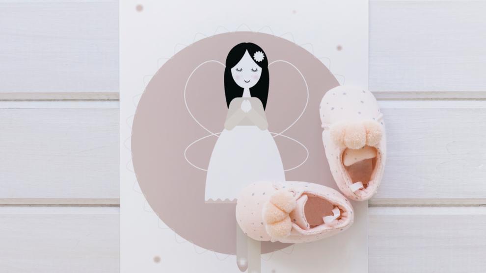 Anioł Wanda – opiekun śpiącego maluszka