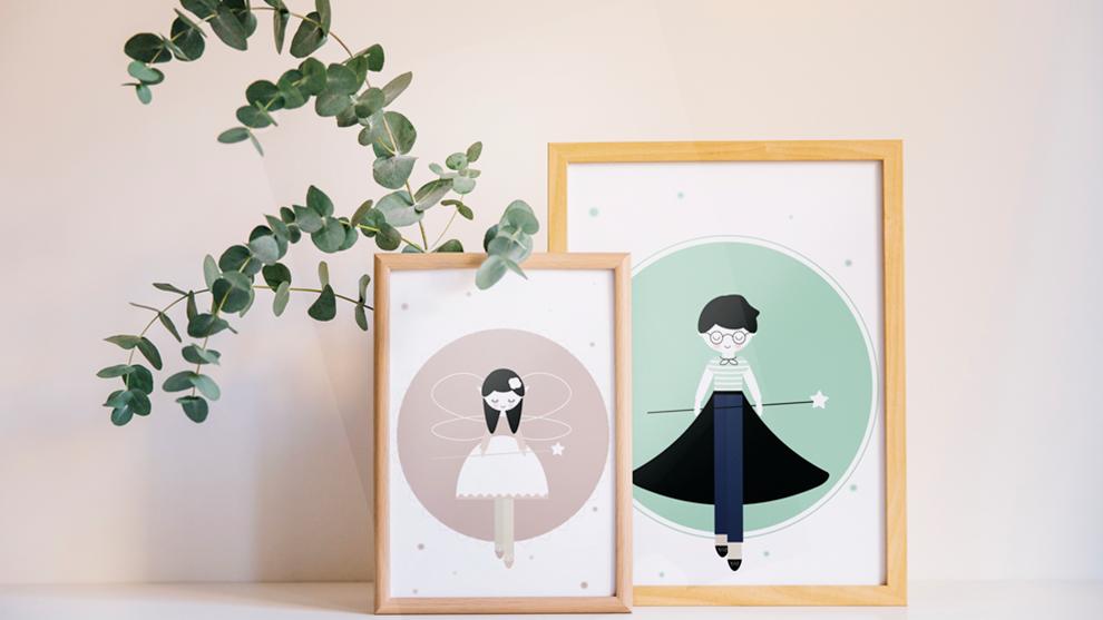 Marcysia i Wituś – nowa kolekcja plakatów o magii i marzeniach