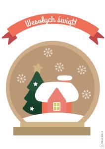 Kartki I Plakaty świąteczne Do Druku Królicze Fikołki