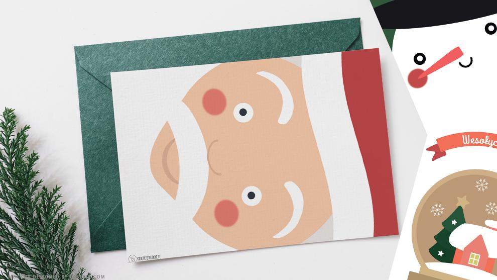 Kartki i plakaty świąteczne do druku
