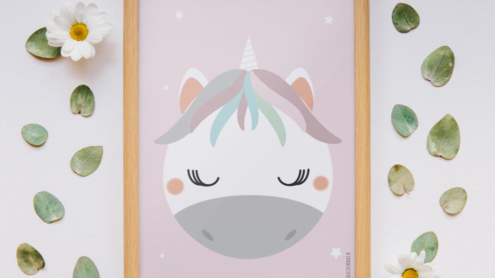 Pastelowe plakaty dla dziewczynek – słodka kolekcja plakatów do druku