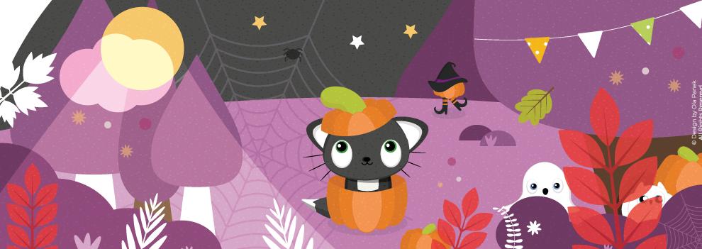 Jesienne zasoby na blogu (ponad 50 plików!) + plakat na halloween do druku